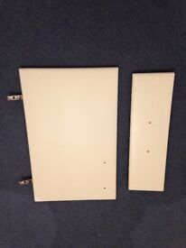 FOR SALE - Kitchen cupboard doors and drawer fronts - Cream Wrap.