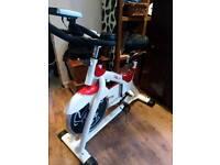 Spin training bike