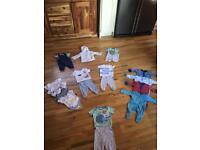 Bundle 0-3 month boys (m&s , next , junior j )