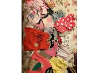 Bag of girls clothes from two years