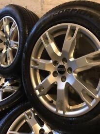 MAKE ME AN OFFER! Range Rover evoque alloys & gd tyres, freelander 2 discovery sport xc alloys 5x108