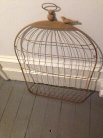 Bird Cage display