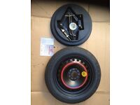 """ford mondeo 5 STUD 16"""" spare wheel and tool kit"""