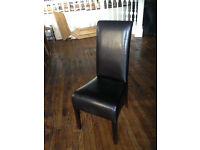 36 Leather Dining Chairs £900 ONO Leith