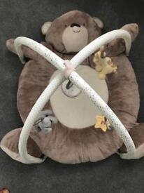 Teddy's toy box playmat baby gym