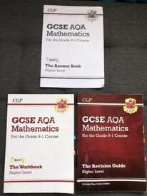 GCSE Maths, English, An Inspector Calls, Chemistry, Biology and Physics Revision Guides.