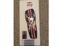 Sky plus remote control Union Jack BNIB