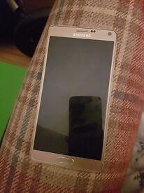 Samsung galaxy note 4 gold unlocked 32gb