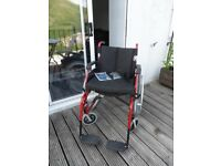 Drive Enigma self propelled extra wide aluminium wheelchair