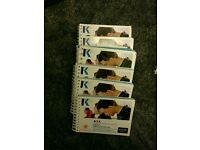F4-F9 pocket notes