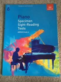 ABRSM piano grade 6 sight reading