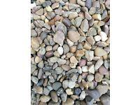 Garden stones ground coverage