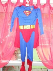 BOYS 7-8 YEARS SUPERMAN COSTUME