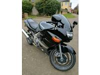 Kawasaki ZZR 600 - very low miles, good condition, black/silver, full MOT, brand new tyres