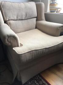 Oatmeal armchair