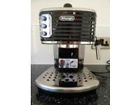 De Longhi Scultura ECZ351 coffee machine in immaculate used condition