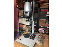 Lucky 90MD 35mm B&W enlarger with timer and accessories