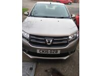 Dacia, leather interior and alloy wheels
