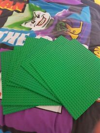 LEGO BASE PLATES 10 BY 10 INCH