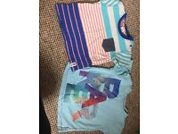 Ted baker boys t shirts X 2 12-18 months