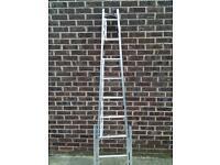 Aluminium Window Cleaner Ladders (7ft) telescopic legs & octopus feet £55