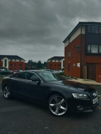 A5 1.8TFSI SPORT CHOCOLATE BROWN LEATHER