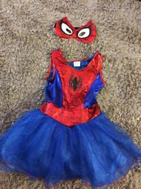 Marvel spider girl dress up 7-8yrs