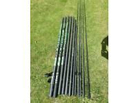 REDUCED Maver elite carp 14.5mt pole(as new)