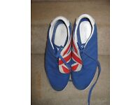 Y3 union jack trainers