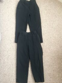 Black school trousers age 5 x 2