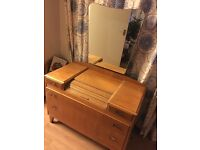 Dressing table antique vintage 1940s or 1950s
