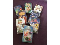 Various original Disney vhs videos.