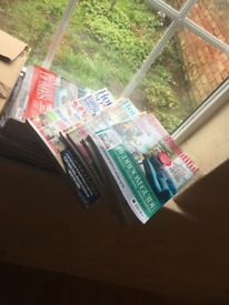 piles of various house magazines spans various years - Free Home Improvement Magazines