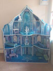 Frozen elsa castle - large!