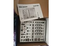 Behringer DJX700 Mixer. Hardly used. Comes with all instructions and original box.