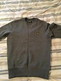 Lyle and Scott grey jumper extra small