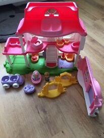 Fisher price Little people musical house