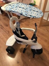 Smarttrike Blue and White Trike