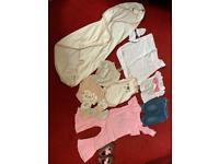 Mixed Bundle of Baby Girls Clothes