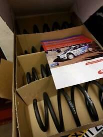 Fiesta ST180 mk7 Eibach lowering springs.