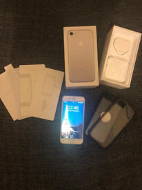Boxed Silver 128gb Iphone 7 (unlocked)