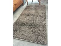 Free! Small mink/mocha/brown coloured rug