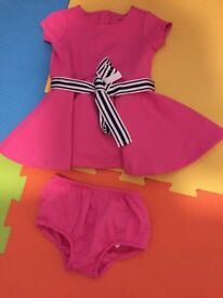 Baby girls Ralph Lauren dress 6-9 months