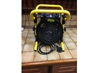 Stanley Turbo 240 volt /2000watt Workshop Fan Heater ST-52-241E