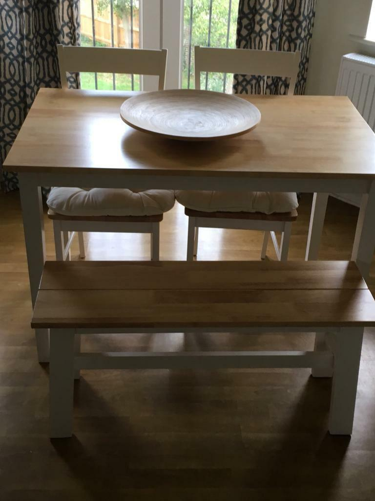 Argos Chicago Solid Wood Table Bench Chairs In Caversham Berkshire Gumtree