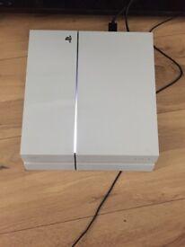 PS4 500GIG WHITE