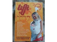 Lift baby carrier sling