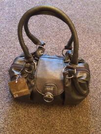 Brand New Pewter Hand Bag