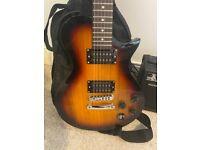 Sunburst Electric Guitar Pack