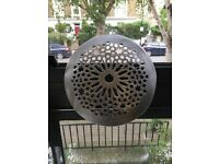 Moroccan style metal ceiling fixture